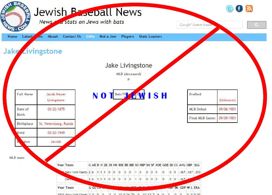 livingstone not a jew